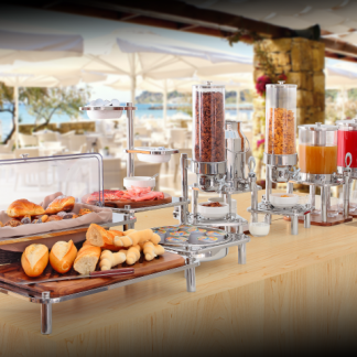 Buffet display solutions