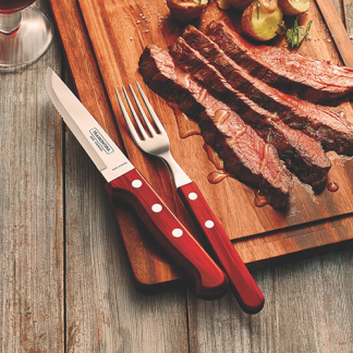 Steak knives and forks (stand alone)