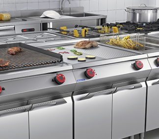 Stoves and boiling tables